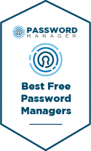 The Best Free Password Managers Badge