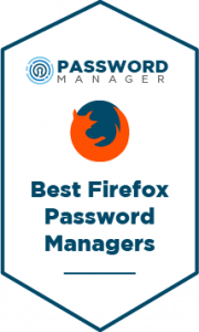 Best Firefox Password Managers Badge