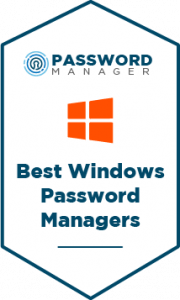 The Best Windows Password Managers Badge Badge