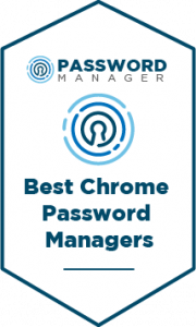 Best Chrome Password Managers Badge