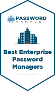 Best Enterprise Password Managers Badge