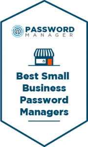 Best Small Business Password Managers Badge